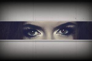 eyebrows eyes women