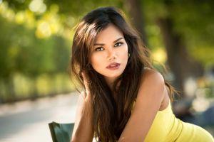 face women brunette portrait lods franck