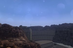 fallout: new vegas apocalyptic obsidian hoover dam screen shot video games pc gaming