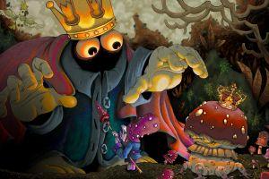 fantasy art animation crown