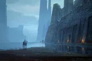 fantasy art artwork fantasy city