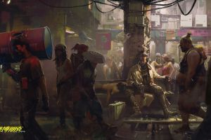 fantasy art cyborg cyberpunk 2077 cyberpunk artwork video games