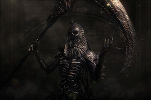 fantasy art dark dark souls ii dark fantasy artwork skull