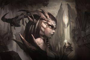 fantasy art demon fantasy girl