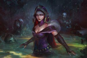 fantasy art magic warrior liliana vess