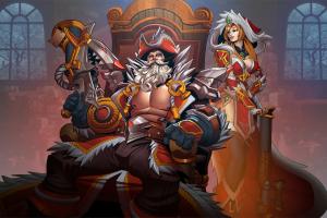 fantasy girl fantasy men big boobs paladins: champions of the realm fantasy art