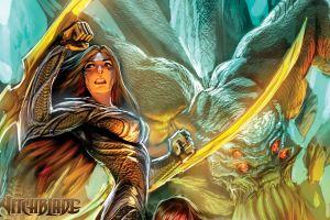 fantasy girl witchblade fantasy art