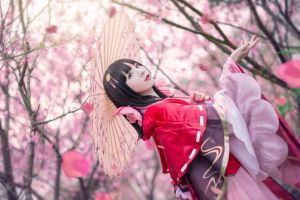 fantasy girl women umbrella asian