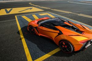 fenyr supersport orange cars vehicle car benoit fraylon supercars