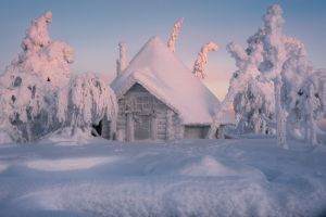 finland snow winter