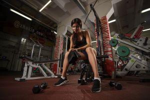 fitness model model gyms women