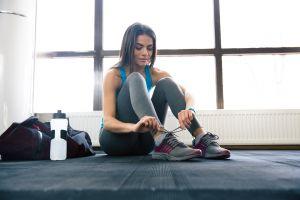 fitness model women women indoors
