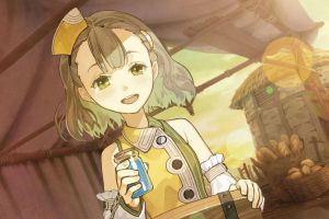 food anime girls atelier escha & logy: alchemists of the dusk sky anime atelier