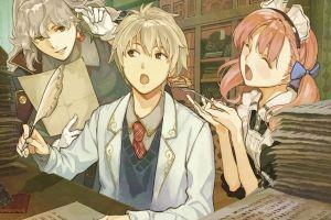 food atelier escha & logy: alchemists of the dusk sky atelier anime girls anime boys anime