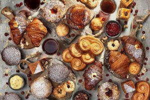 food sweets croissants