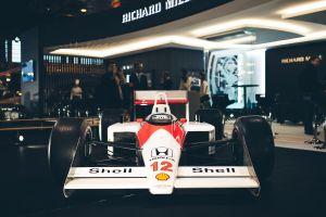 formula 1 ayrton senna honda mclaren f1 race cars