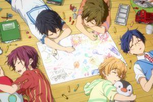 free! anime boys anime: gamers!
