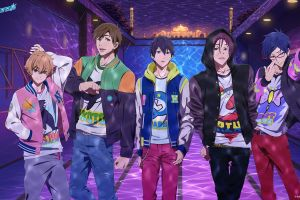 free! anime boys colorful anime