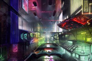 futuristic city futuristic synthwave retrowave