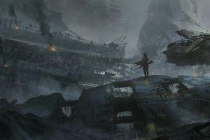 futuristic concept art science fiction artwork juan pablo roldan digital