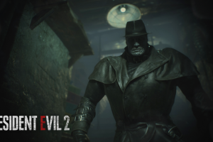 games art zombies tyrant resident evil 2 video games