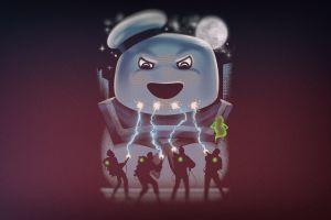 ghostbusters artwork movies marshmallow man