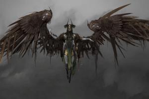 god of war (2018) video games god of war valkyries artwork