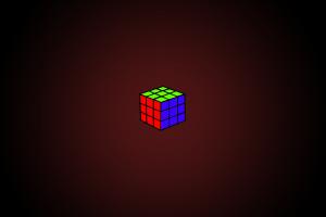 gradient simple background cube photoshop