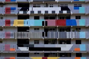 graffiti building architecture street art singapore monoscope colorful balcony test patterns