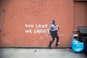 graffiti urban concrete banksy wall street art