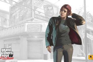 grand theft auto ashley rockstar games video game art video games grand theft auto iv
