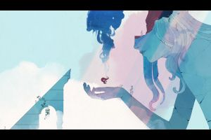 gris (video game) video game art pc gaming games art women artwork