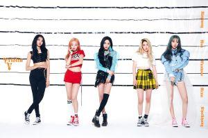 group of women asian k-pop