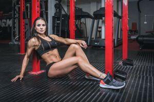 gyms model fitness model women