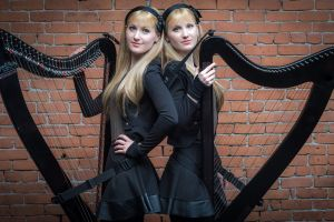 harp harp twins camille and kennerly women