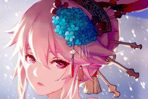 honkai impact anime girls yae sakura (honkai impact) anime