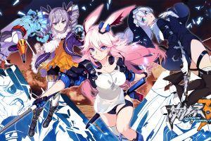 honkai impact anime yae sakura (honkai impact) bronya zaychik