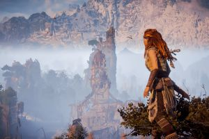 horizon: zero dawn screen shot video games horizon zero dawn  aloy (horizon: zero dawn) video game characters