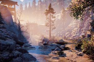 horizon: zero dawn video games nature