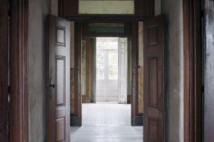 house indoors door