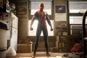 insomniac games spider-man spider-man (2018)