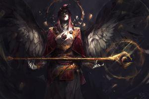 jason nguyen armor wings women angel staff