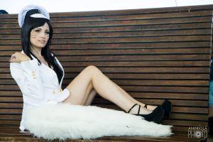kafkanya black hair women cosplay