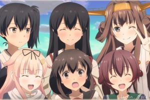 kaga (kantai collection) yuudachi (kancolle) kongou (kancolle) mutsuki (kancolle) fubuki (kancolle) akagi (kancolle) kantai collection