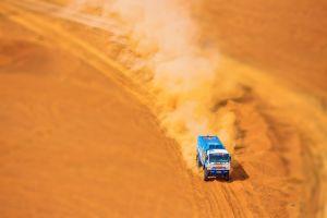 kamaz truck racing vehicle desert