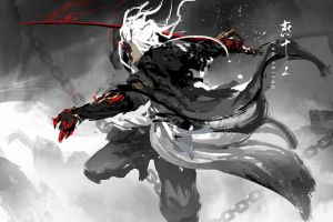 katana sword artwork