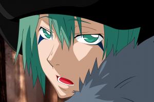 katekyo hitman reborn! open mouth green hair green eyes anime boys fran (katekyo hitman reborn!)
