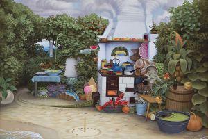 kitchen jacek yerka plants
