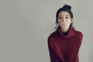 korean sweater asian red sweater flowers korean women k-pop women