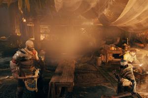 kratos god of war screen shot video games